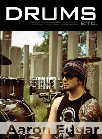 drums etc magazine cover advanced drum lessons