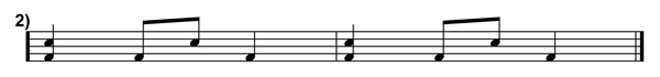 Polyrhythms Simplified Transcription 2