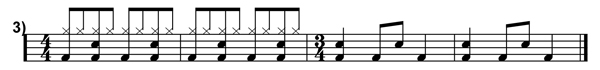 Polyrhythms Simplified Transcription 3