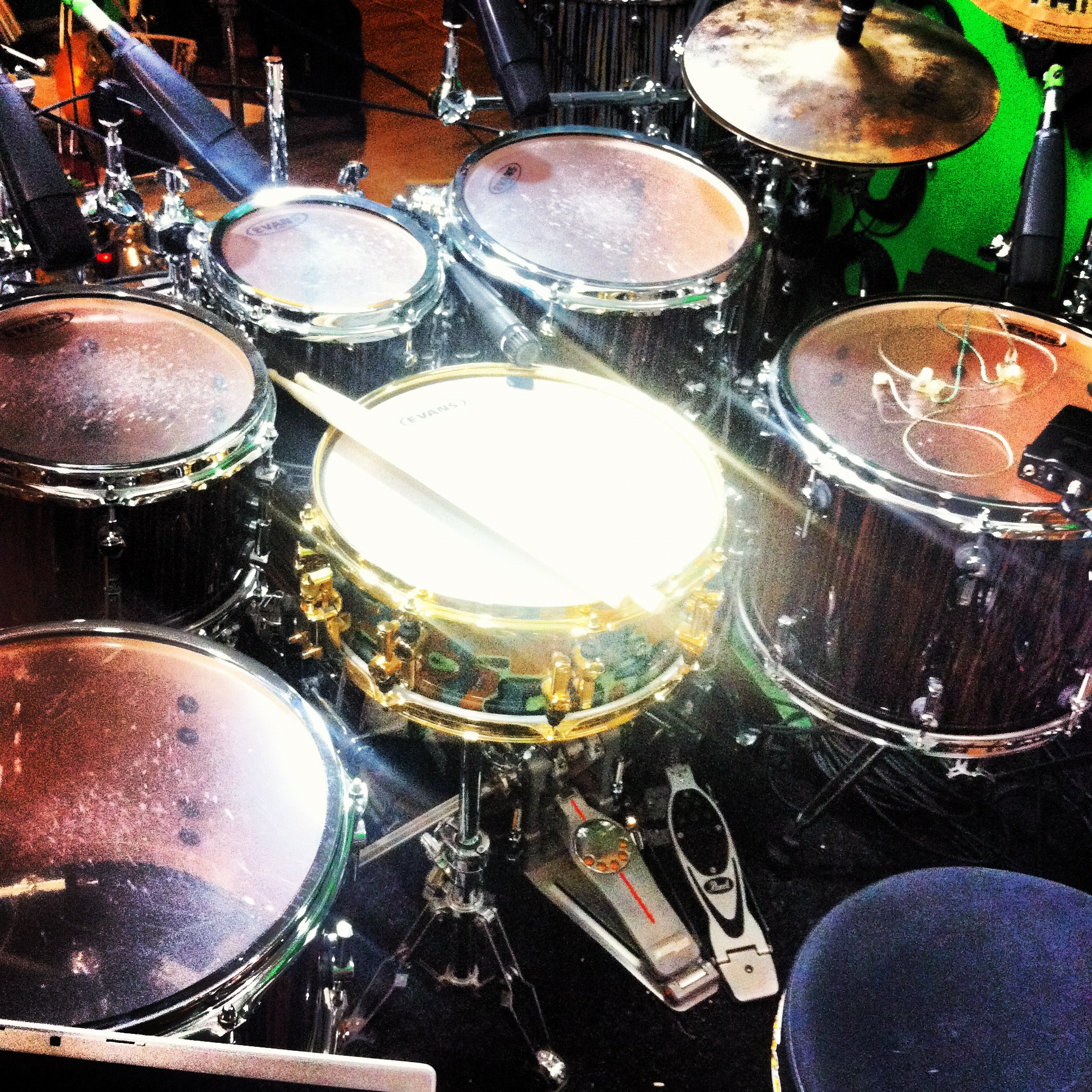 skype drum lessons kit