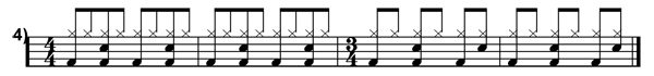 Polyrhythms Simplified Transcription 4