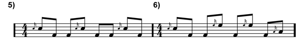 Eighth Note Fills